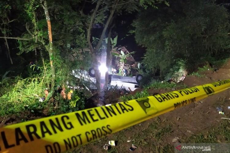 Total Korban Tewas Kecelakaan Maut di Sumedang 27 Orang