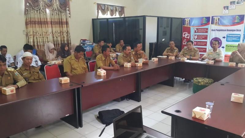 TP4D Kejari Way Kanan Monitoring dan Evaluasi 10 Desa