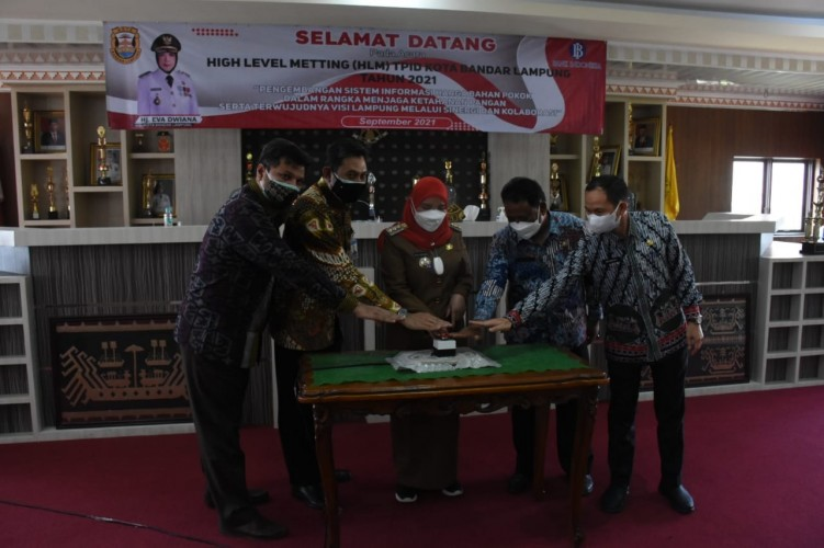 TPID Bandar Lampung Luncurkan Aplikasi Pemantau Harga Bahan Pokok