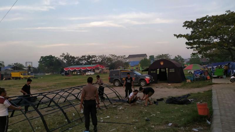 Trail Adventure Semarakan HUT-73 Bhayangkara Polres Lamsel