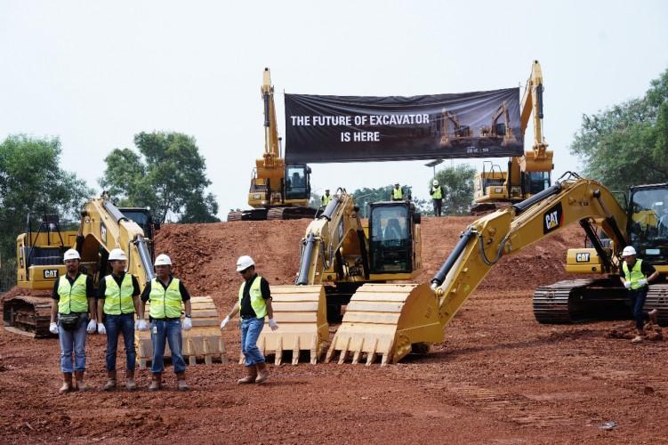 Trakindo Luncurkan Hydraulic Excavator Berteknologi Masa Depan