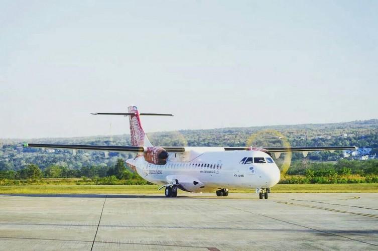 TransNusa Buka Rute Penerbangan Lampung-Majalengka
