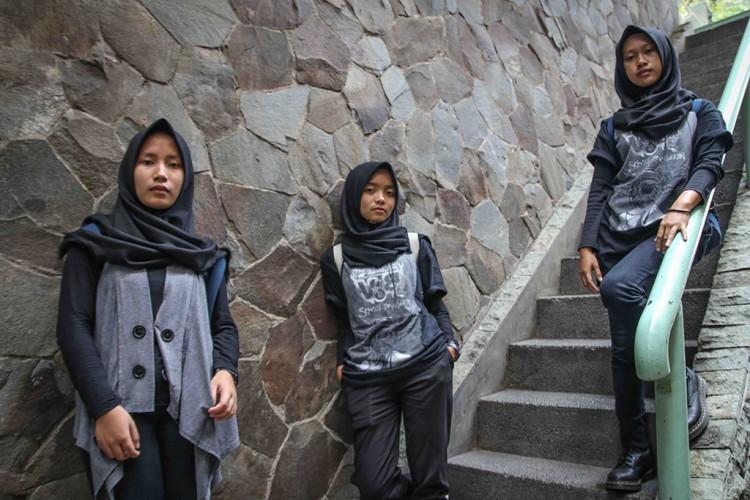 Trio Hijaber Metal dari Garut akan Tampil di Festival Musik Dunia