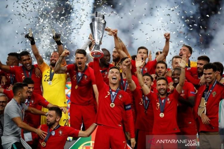 Trofi UEFA Nations League Jadi Kado Manis Hari Nasional Portugal