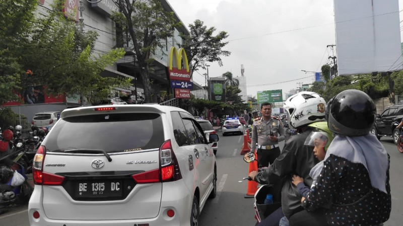 Trotoar di Empat Jalan Utama di Bandar Lampung akan Ditata