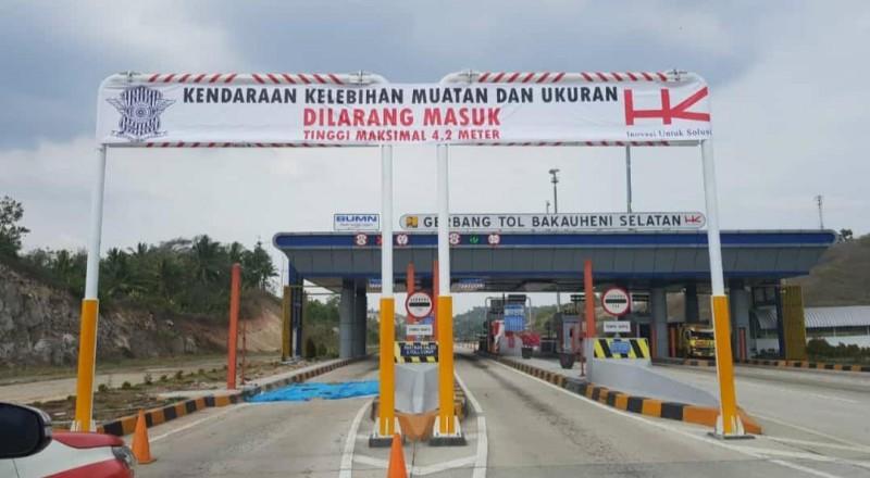 Truk Dilarang Lewat Tol Sumatera saat Libur Natal-Tahun Baru