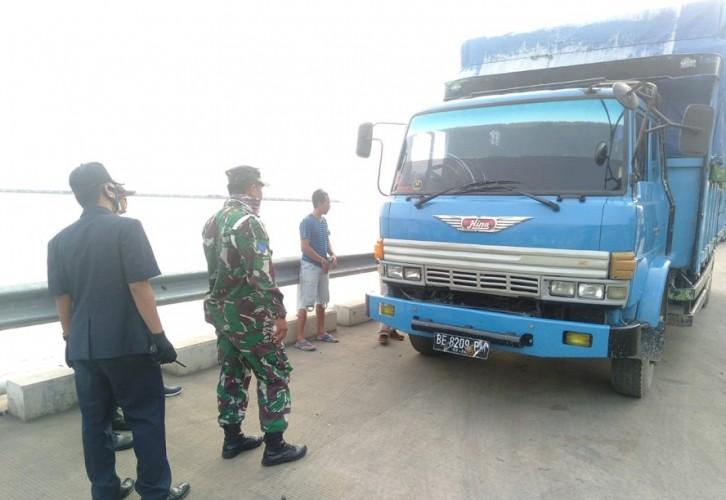 Truk Terlibat Kecelakaan Maut di Tol Ditemukan di Merak