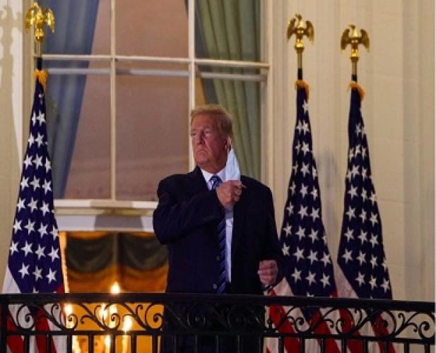 Trump Belum Sepenuhnya Aman dari Covid-19