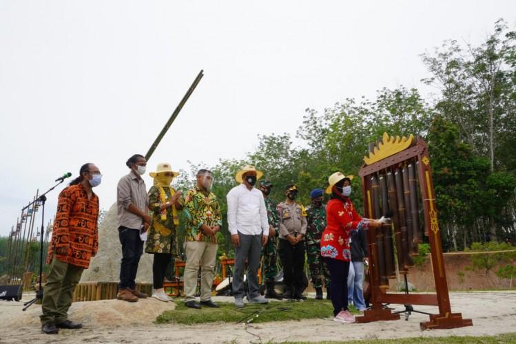 Tubaba Internasional Bambu Festival Dinilai Bisa Tingkatkan Indeks Kebahagiaan