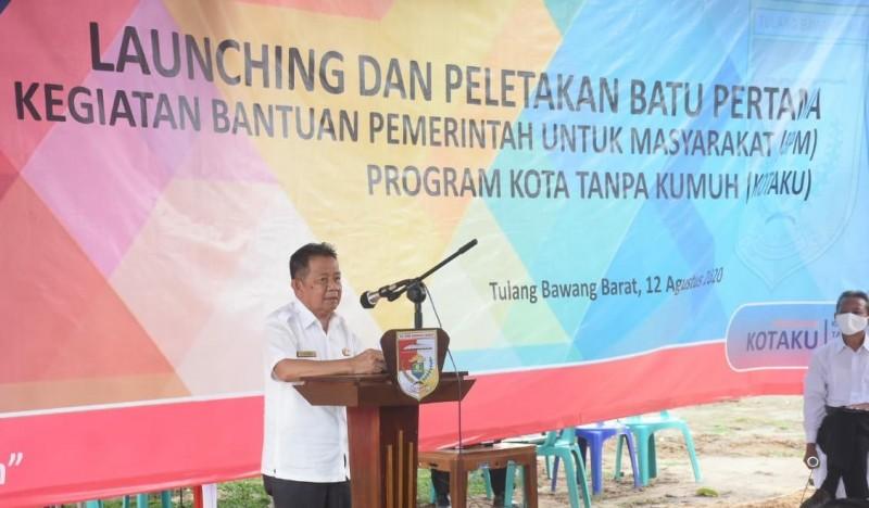 Tubaba Launching Kota Tanpa Kumuh Di Mulya Asri