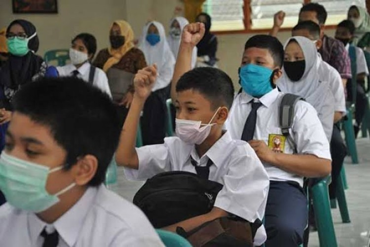 Tujuh Daerah Zona Oranye Lampung Belum Diizinkan PTM