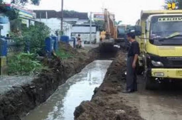 Tujuh Drainase di Bandar Lampung Siap Diperbaiki