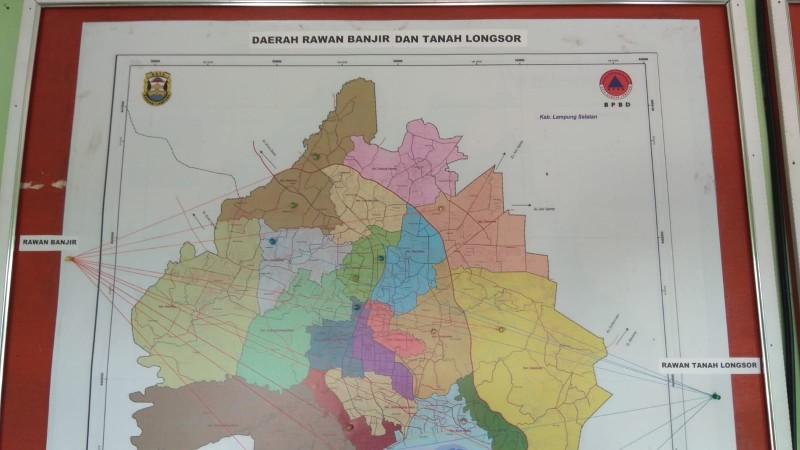Tujuh Kelurahan di Bandar Lampung Rawan Longsor