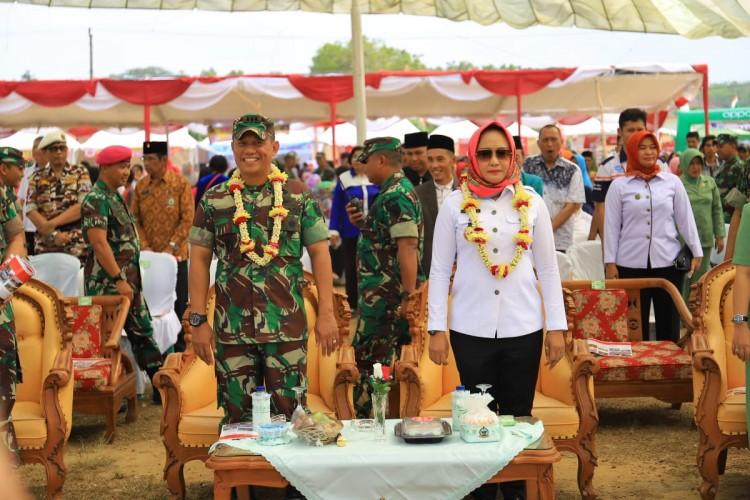 Tulangbawang Jadi Tuan Rumah HUT Ke-74 TNI