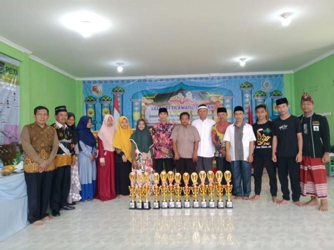 Tulangbawang Tengah Juara Umum Seleksi Tilawatil Quran Tingkat Kabupaten