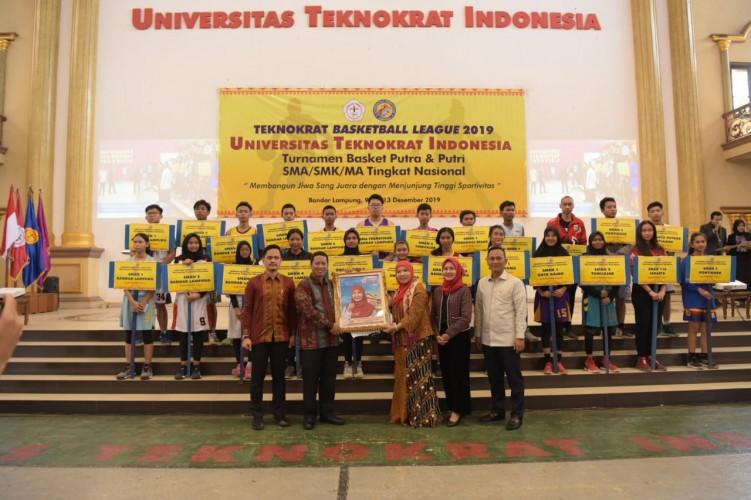 Turnamen Basket Teknokrat Diikuti 36 Tim, Termasuk Pontianak dan Jakarta