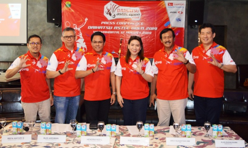 Turnamen Daihatsu Astec Open 2019 Akan Hadir di Yogyakarta