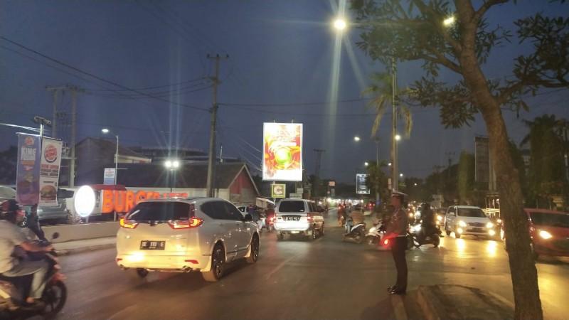 U-Turn  Depan Burger King Bikin Macet, Polresta Ambil Tindakan