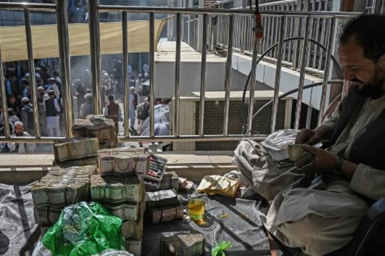 Uang di Bank Sentral Afghanistan Dikuras Sebelum Taliban Berkuasa