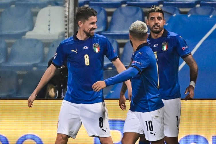 UEFA Nations League: Italia Gilas Polandia 2-0