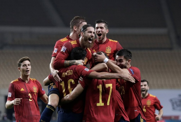 UEFA Nations League: Spanyol Juara Grup Usai Kalahkan Jerman 6-0