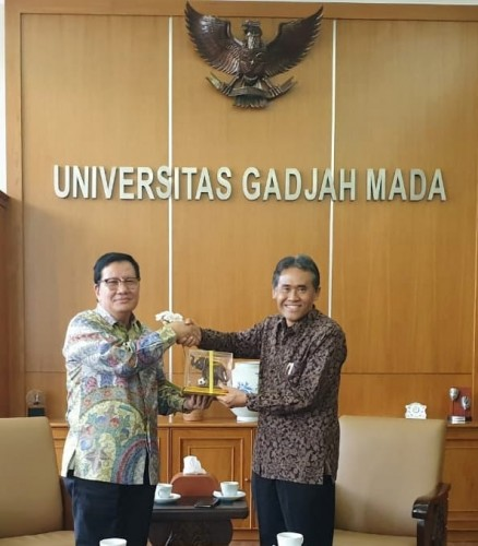 UGM Sambut Silaturahmi Universitas Teknokrat Indonesia