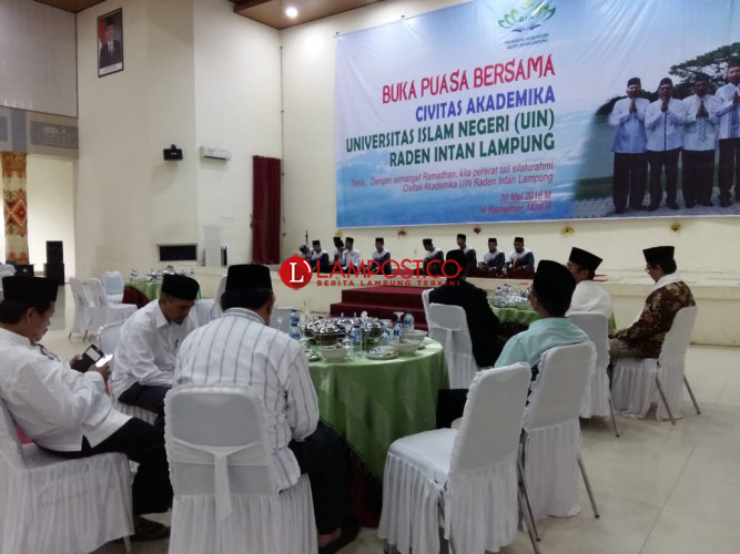 UIN Lampung Gelar Buka Bersama Unsur Civitas Akademik