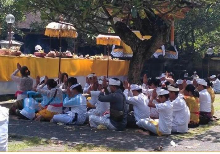 Umat Sedharma di Ketapang Sambut Hari Kemenangan