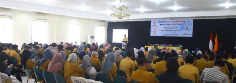 Umitra Indonesia Gelar Seminar Nasional Tantangan Kesehatan Masyarakat di Era Milenial
