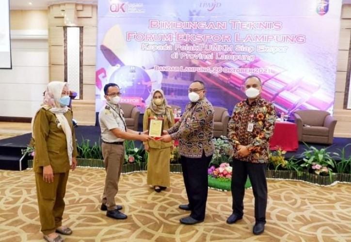 UMKM Lampung Tingkatkan Ekspor
