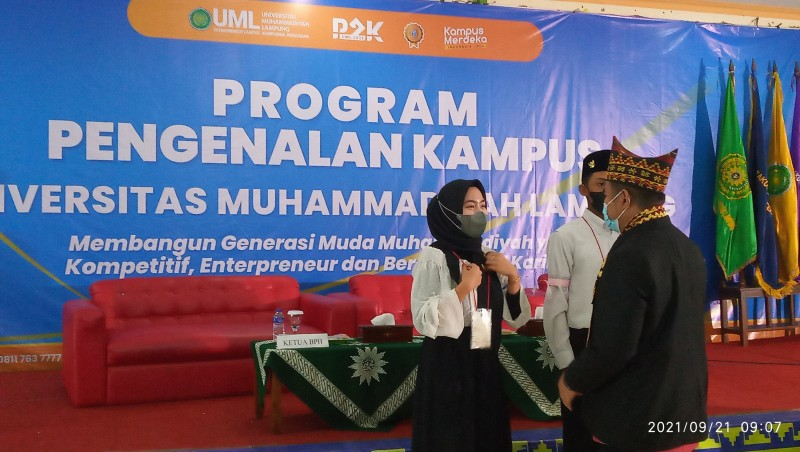 UML Bentuk Mahasiswa Baru Berkarakter Entrepreneur
