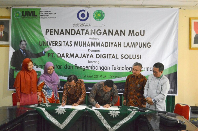 UML Gandeng PT Darmajaya Digital Solusi Kembangkan Teknologi IT