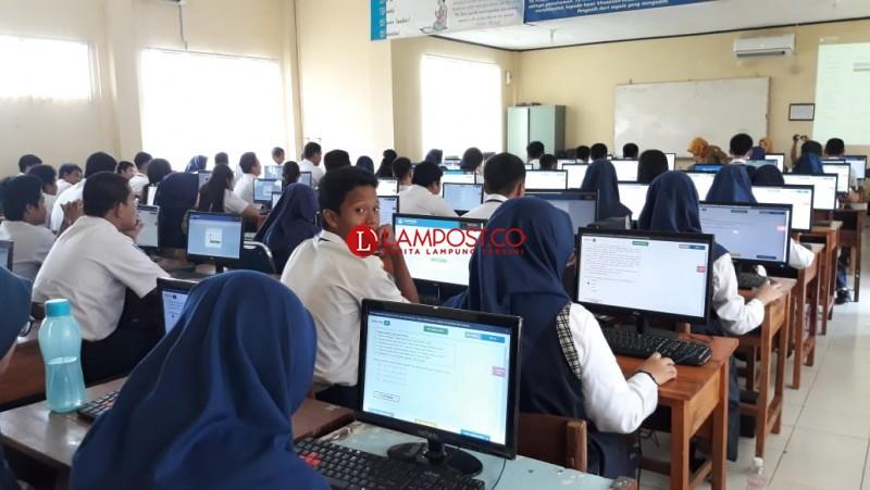 UNBK SMP Hari Pertama, Server Sempat Down 5 Menit
