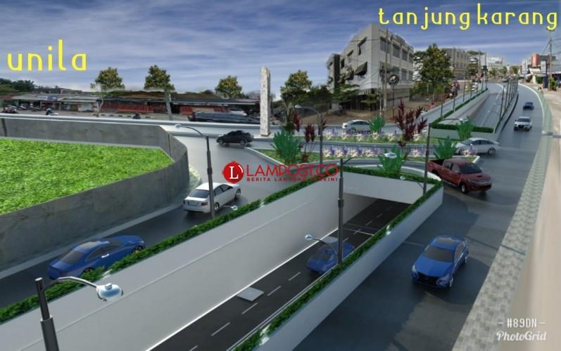 Underpass Unila Timbulkan Trouble Spot Baru, Polda Sarankan Tutup U-Turn
