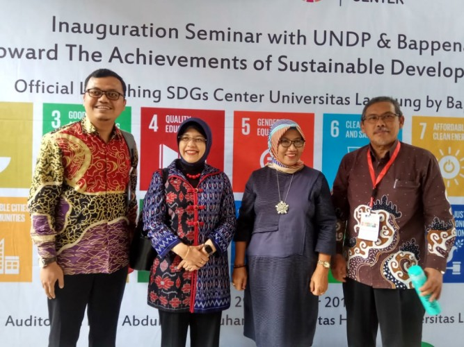 Unila Bangun Pusat SDGs
