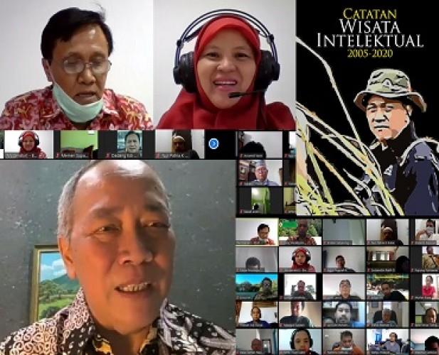 Unila Bedah Buku <i>Catatan Wisata Intelektual 2005-2020</i>