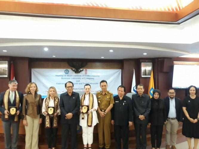Universitas Lampung-Kroasia JalinKerjasama Bidang Pendidikan