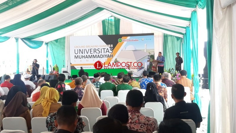Universitas Muhammadiyah Lampung Ground Breaking Kampus II