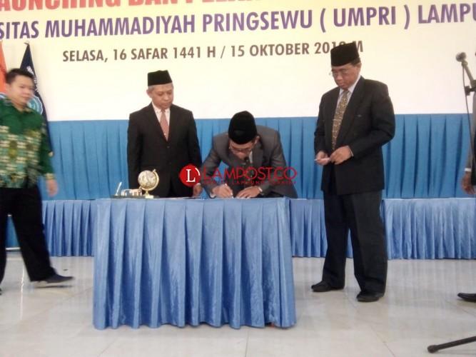 Universitas Muhammadiyah Pringsewu Resmi Dilaunching