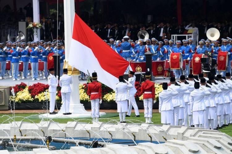Upacara Peringatan HUT ke-76 RI Libatkan Formasi Lengkap Paskibraka