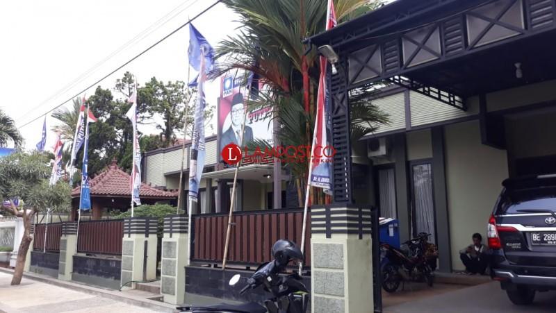 Usai OTT, Kantor DPW PAN Lampung Lengang