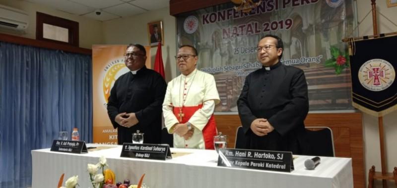 Uskup Agung Menyindir Kedatangan Anies Baswedan ke Katedral