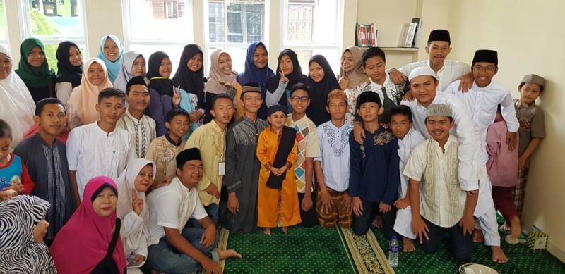 Ustaz Mumuy Sudah Dua Kali Tausiah di Masjid Al Huda