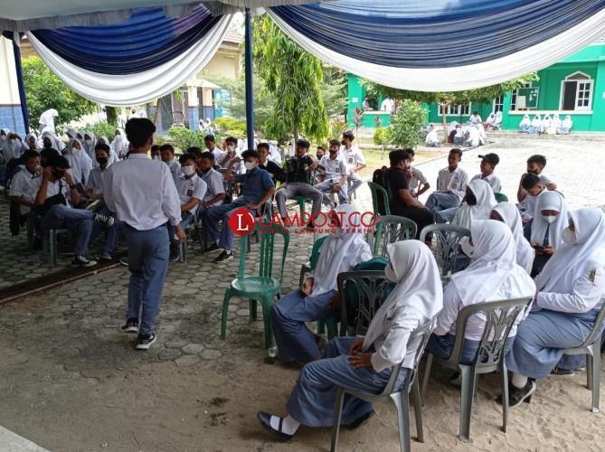 Vaksinasi Pelajar di Lampung Sudah 60,36 Persen