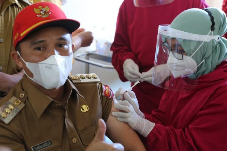 Vaksinasi Tahap II di Lambar Kembali Digelar