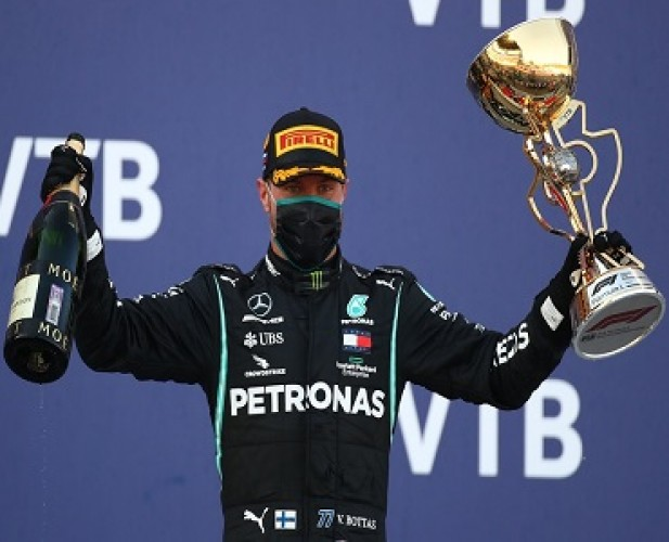 Valtteri Bottas Juara GP Rusia, Lewis Hamilton Kena Penalti