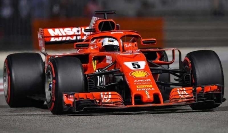 Vettel Tercepat di Tes Pramusim