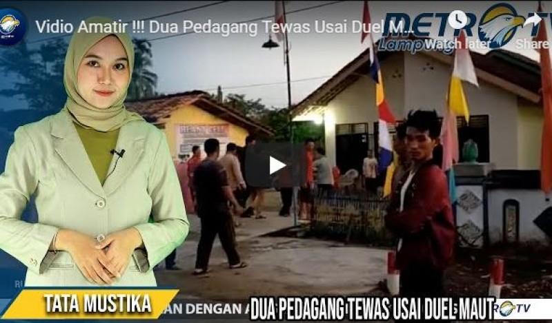 Video Amatir, Kakak Beradik Tewas Usai Duel Maut di Pubian
