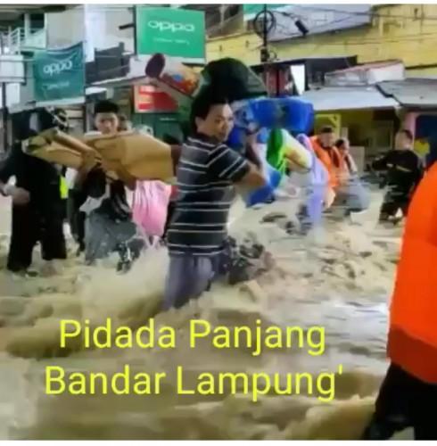 Video Banjir Pidada Panjang Hoaks