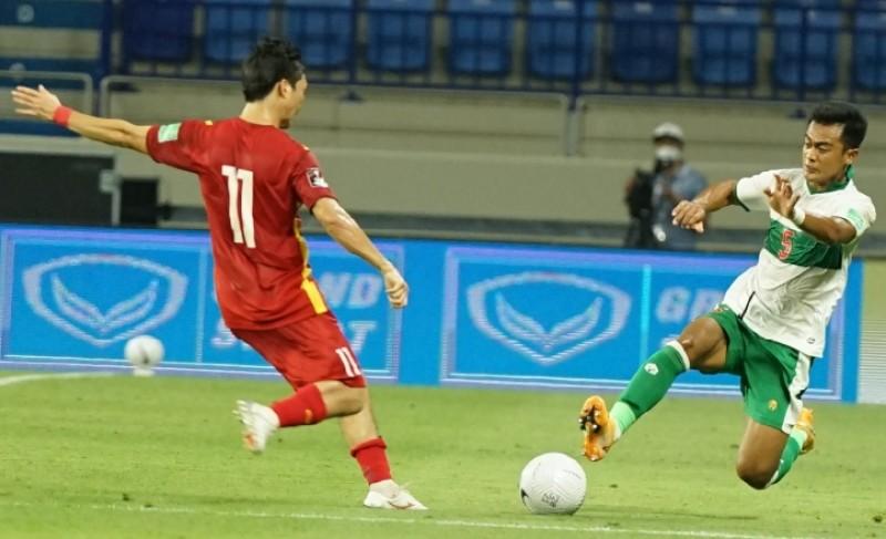 Vietnam Bantai Indonesia di Kualifikasi Piala Dunia 2022